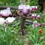 Garden Tulips Installation - Spring